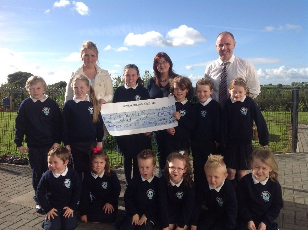 Donation From The Friends Of St Oliver Plunkett S