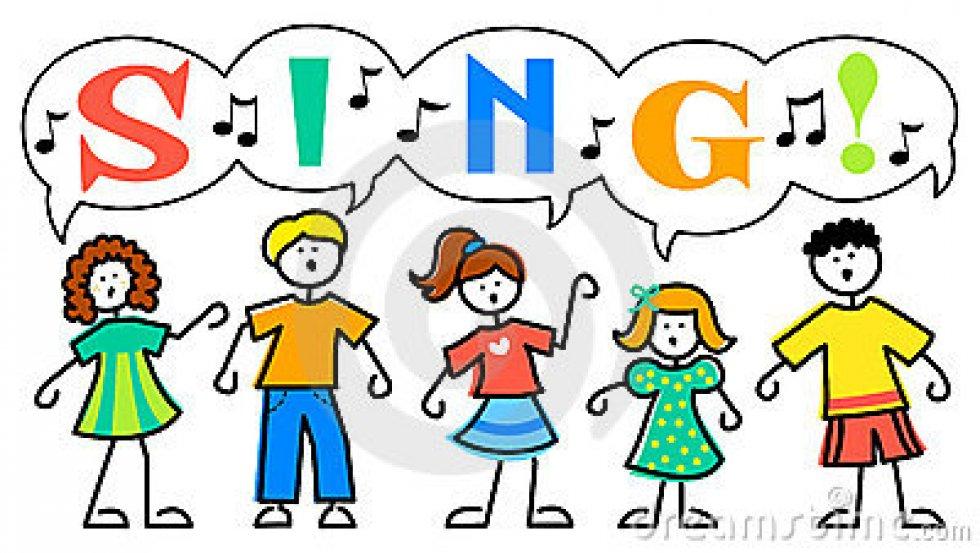 Children Singing And Dancing Clip Art Wwwimgarcadecom